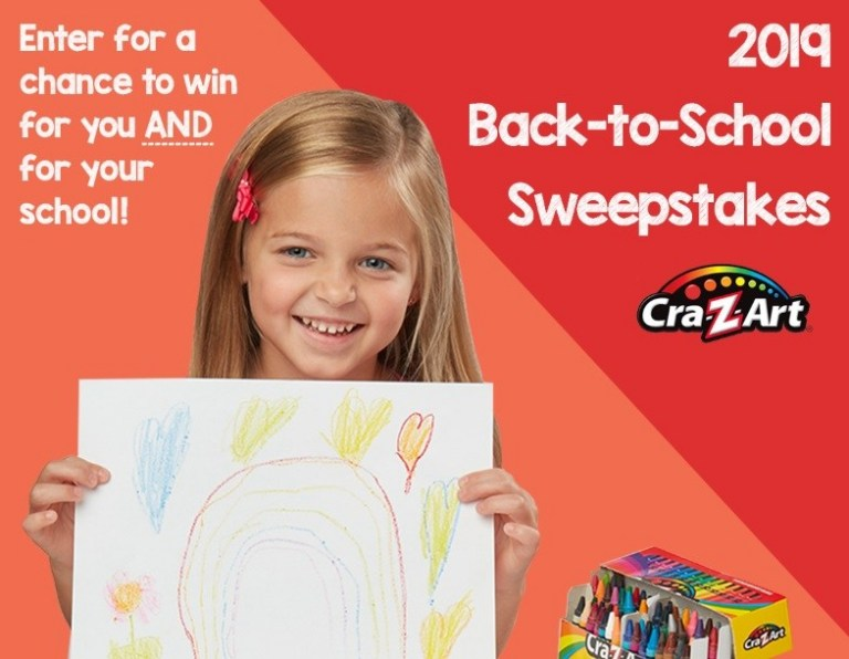 Larose Cra-Z-Art Back To School Sweepstakes – Win Cash Prize