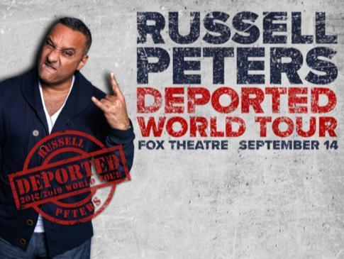 Laugh With Russell Peters Contest