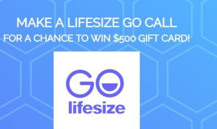 Lifesize Go 500 Dollars Gift Card Giveaway