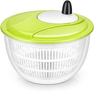 Lougnee Premium Large Salad Spinner Vegetable Washer… Giveaway
