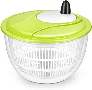 Lougnee Premium Large Salad Spinner Vegetable Washer… Giveaway
