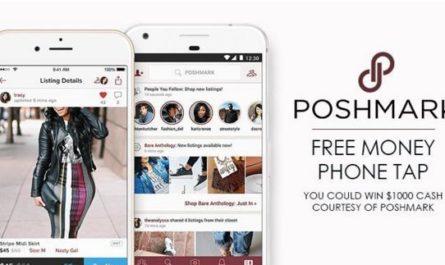 Poshmark Free Money Phone Tap Sweepstakes