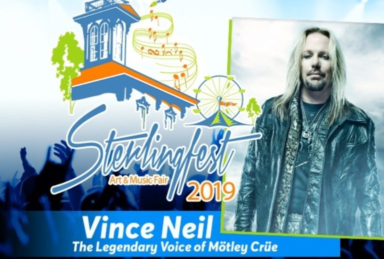 Riff Rocks Sterlingfest With Vince Neil Sweepstakes