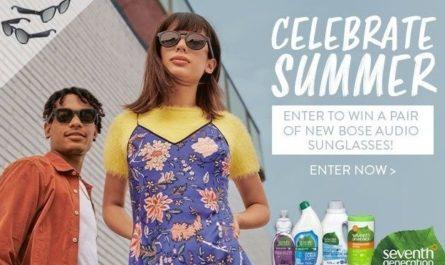 Seventh Generation Bose Audio Sunglasses Giveaway