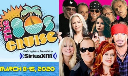 SiriusXM 80s Cruise Sweepstakes