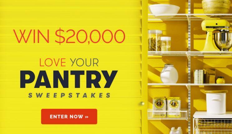 Southern Living Love Your Pantry $20,000 Sweepstakes