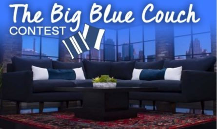 The Big Blue Couch Sweepstakes