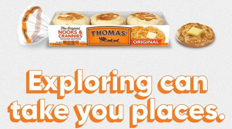 a 4-day and 3-night trip for two three destinations New Orleans, LA, San Francisco, CA, or Savannah, GA.     If want to get more details regarding the Thomas English Muffins Explore Whats Possible Sweepstakes please click above mention link, and participate to win amazing prize.