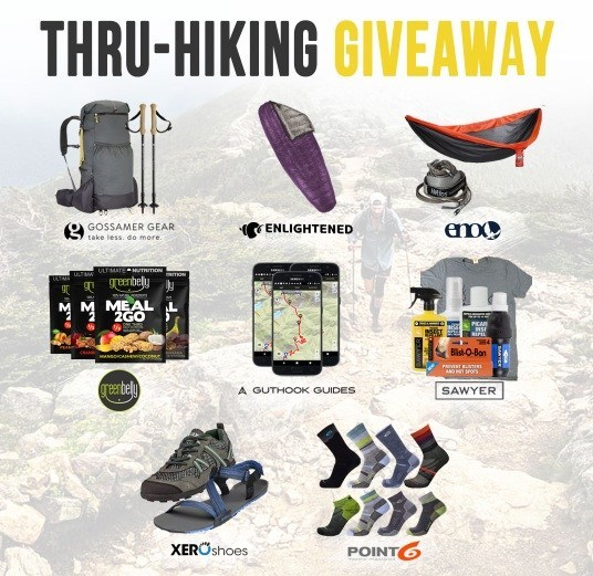 Thru-Hiking Giveaway