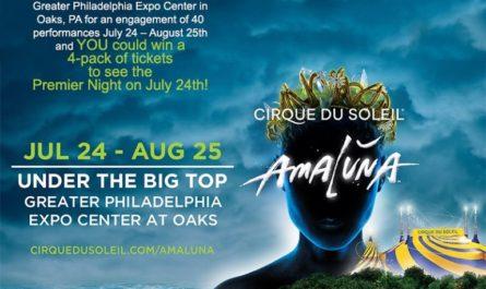 Cirque du Soleil Amaluna Sweepstakes