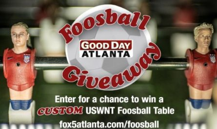 Good Day Atlanta Foosball Giveaway