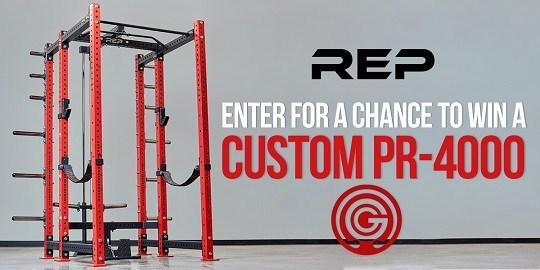 Rep Fitness Custom PR-4000 Sweepstakes