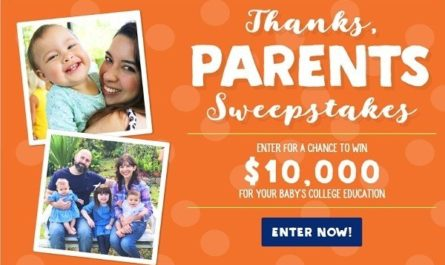 Money For Child's Education Sweepstakes