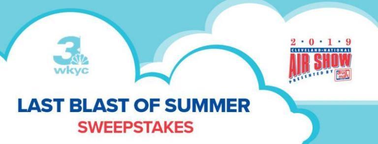 CNAS Last Blast of Summer Sweepstakes