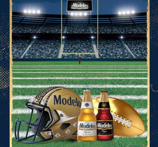 Modelo Football Instant Win Game Sweepstakes