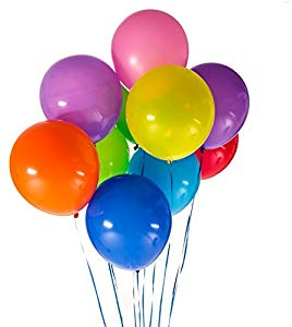 Uplifting Balloons 144 12″ Latex Balloons in 10 Vibrant… Giveaway