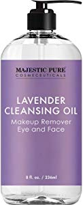MAJESTIC PURE Lavender Cleansing Oil – Makeup Remover for Eye and Face – Oil Cleanser Sweepstakes