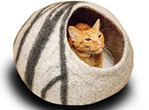 MEOWFIA Premium Felt Cat Bed Cave Giveaway