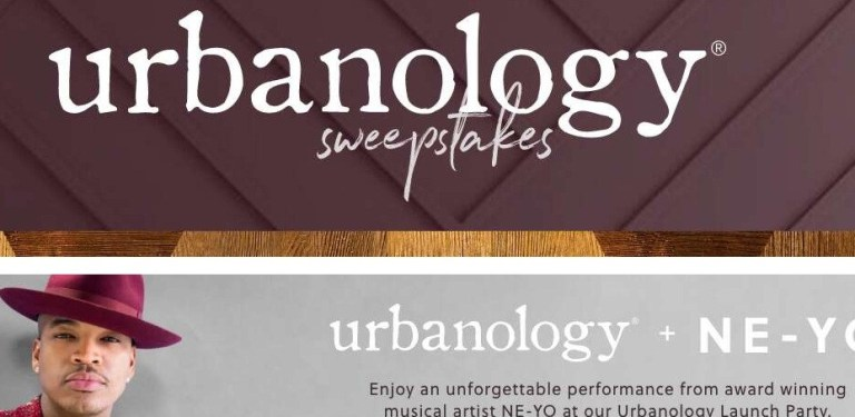 Ashley Furniture Homestore Urbanology Sweepstakes - Win Tickets