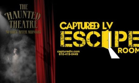 The Haunted Theatre Captured Lehigh Valley Sweepstakes