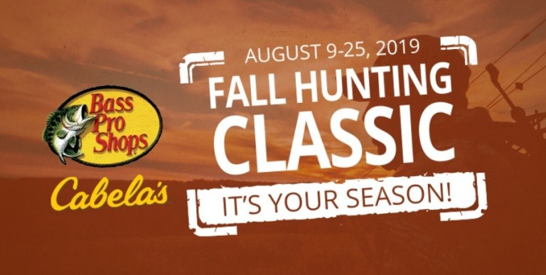 Bass Pro Shops Fall Hunting Classic Sweepstakes