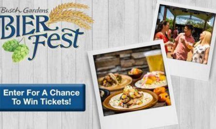Bier Fest Busch Gardens Tampa Contest