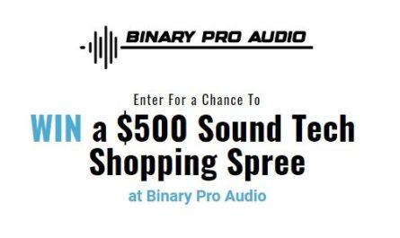 Binary Pro Audio Giveaway