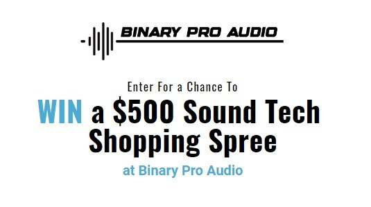 Binary Pro Audio Giveaway – Win Cash Prize