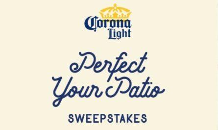 Corona Patio Makeover Sweepstakes