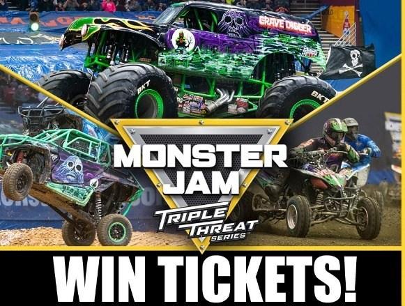 Monster Jam Triple Threat Contest