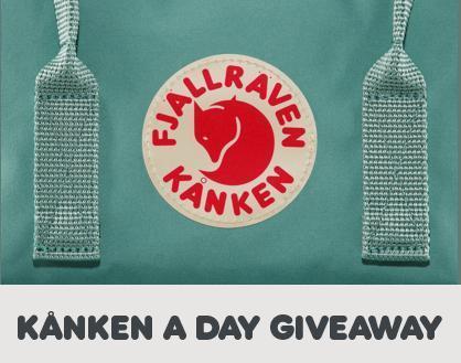 Fjallraven Kanken A Day Giveaway