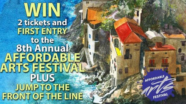 The Affordable Arts Festival Sweepstakes - Win Tickets