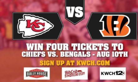 KWCH Chiefs Preseason Ticket Giveaway