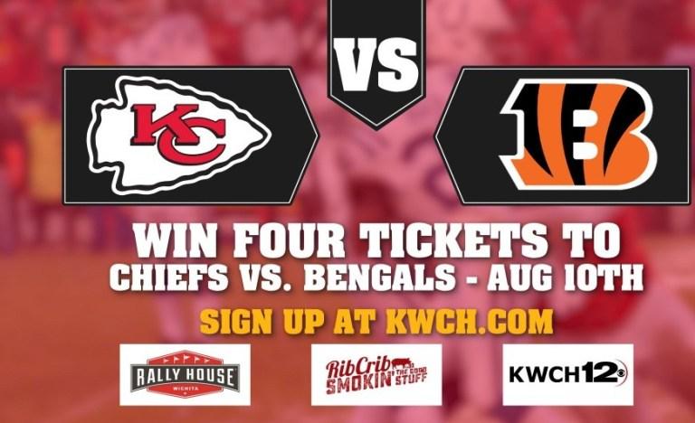KWCH Chiefs Preseason Ticket Giveaway – Win Tickets