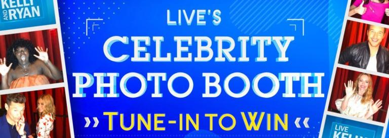 LIVE With Kelly And Ryan Photo Booth Tune In To Win Contest – Win Trip