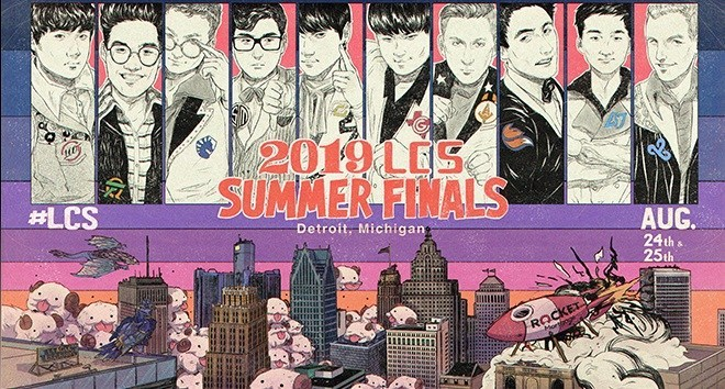 LLC – LCS Summer Finals Ticket Giveaway – Chance To Win Tickets