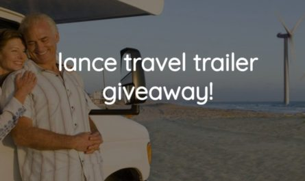 Lance Travel Trailer Giveaway