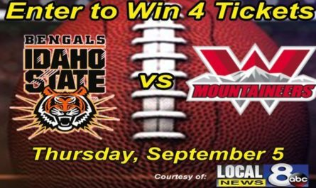 Local News ISU Football Ticket Giveaway