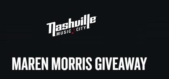 Nashville Maren Morris Giveaway
