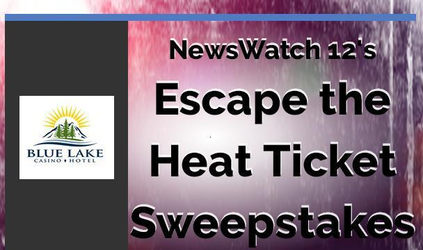 NewsWatch 12Escape The Heat Ticket Sweepstakes