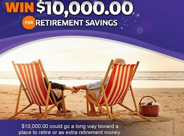 10000 Dollars Retirement Sweepstakes - Win Cash