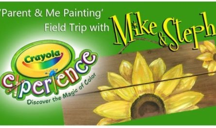 Parent & Me Painting Field Trip Sweepstakes