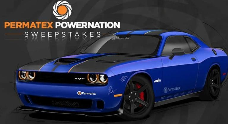 RTM Permatex POWERNATION Sweepstakes