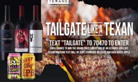 Tailgate Like A Texan Sweepstakes