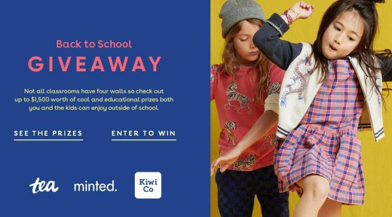 Tea Collection Back To School Giveaway – Win Cash Prize