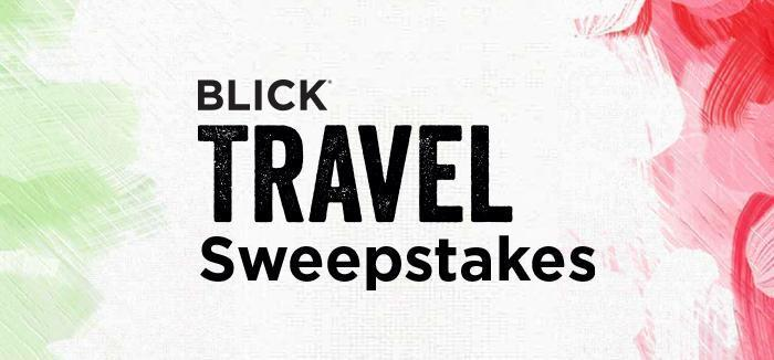 The Blick Travel Sweepstakes – Win Trip To Rome