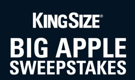 The KingSize Big Apple Sweepstakes