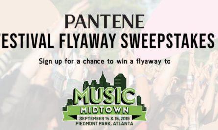 The Pantene Festival Flyaway Sweepstakes