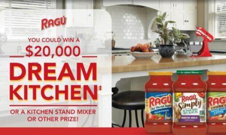 The RAGU Dream Kitchen Giveaway