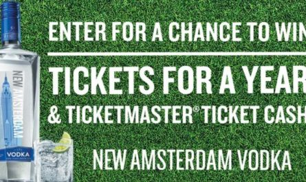 Ticketmaster Tickets For A Year Sweepstakes